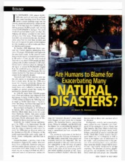 1a-Are Humans to Blame for Exacerbating Many Natural Hazards