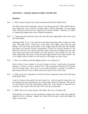 MBA711 - Chapter 9 - Answers to all problems