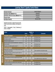 QC Sheet Compilation Learning Team C (1)