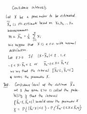 24 Confidence interval