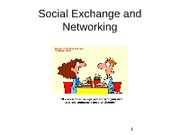 Social Exchange and Networking Powerpoint