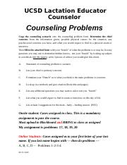 TAB 1 2f CLEC Counseling Problems(2)