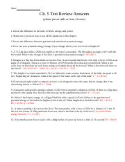 Work and Energy - Physics Work Power Energy Worksheet 1 Calculate ...