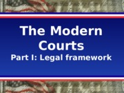GOV 30 Lecture Modern Courts