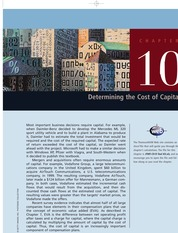 Ch10_Determining the cost of Capital FIN MAN_ BRIGHAM PDF_INTERMEDIATE book_inter