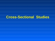 Lec12CrossSectionalStudies(Revised07)