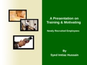 Training & Motivating.pps