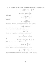Differential Equations Lecture Work Solutions 260