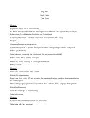 Dep 2004 Final Exam study guide.docx