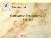 Lec 04 Customer Perception