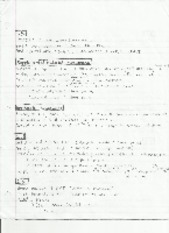 Chapter 1 and 2 Notes