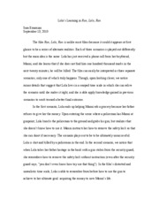 run lola run film essay