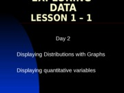1-1 Day 2 Displaying quantitative variables