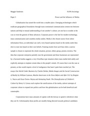 paper 5 power and influence of the media
