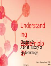 Chapter 2 Brief History of Epidemiology
