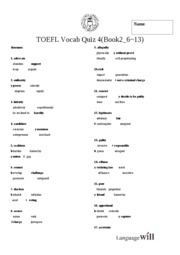 답! Base TOEFL Test 4(Book2_ 6~13)