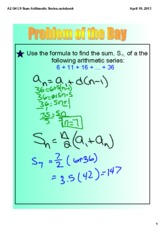 A2_U4_L10_Sum_of_Arithmetic_Series_Day_2