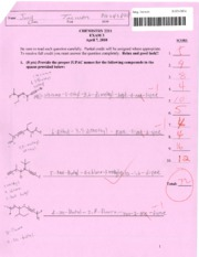Chem 2211 My Exam 3