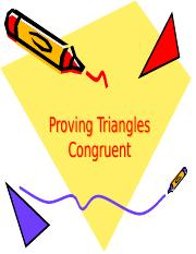 10.17 Triangle Congruence Proofs Day 2.ppt