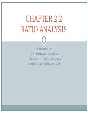 Chapter 2.2 RATIO ANALYSIS.ppt