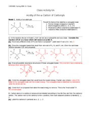 CHEM302 S09 CA6a key