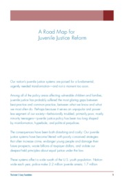 A Road Map for Juvenile Justice Reform