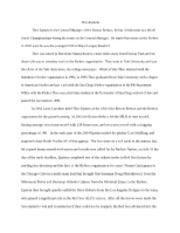 sport management career essay goals my career goal once i most popular documents for econ 214