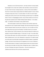telemachia character analysis essay everybody grows up for some  2 pages odysseus character analysis essay