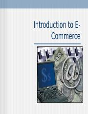 (1) Intro to E-Commerce.ppt