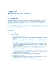 Risk management solution manual chapter 20