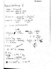 Physics 1 Web Assignments 1-5 (Student Answers)