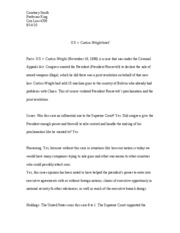 u.s. v. curtiss-wright brief