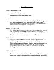 Research Essay Criteria copy