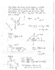 Lecture 22 - Problems Worked Out