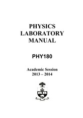 PHY180H1F Lab Manual(1)