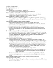 Chemistry Chapter 2 Study Guide