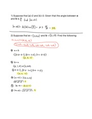 Hw05 12.4 The Cross Product