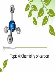 BIO - Topic 4.1 - Introduction to The Chemistry of Carbon - BC SP16(1).pptx