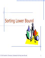 CSE2100_Ch12_SortingLowerBound
