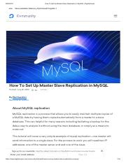 How To Set Up Master Slave Replication in MySQL _ DigitalOcean.pdf