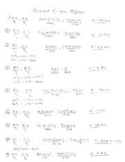 Charles' Law Worksheet Answers