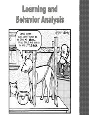 Chapter 6 Learning and Behavior Analysis Lecture 2(1) (1).pptx