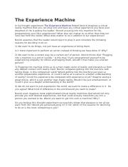 the experience machine.docx