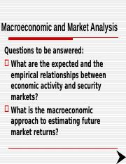 Macro Environ Stock Pricesch12.ppt
