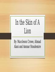 In-the-Skin-of-A-Lion.pptx