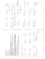 CHEM 230 Problem Set #3_key