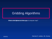 Geol-4165_Subsurface_Geology-ch2-Gridding_algorithms