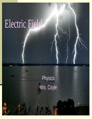 2 Electric Field