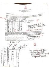 Test: Truth Tables