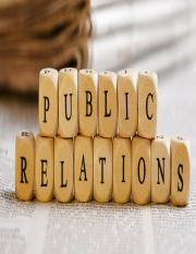 PUBLIC RELATIONS BY MANTONG